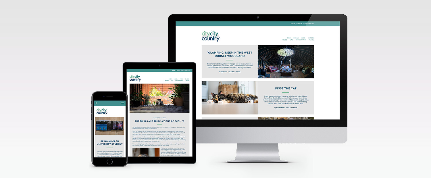 CityCityCountry Website Design and Build