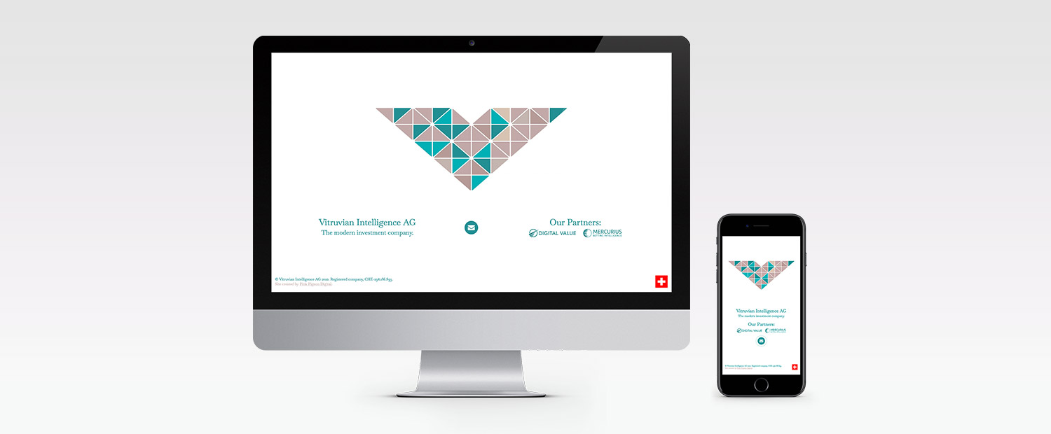 Vitruvian Intelligence AG Website Design, Build and Animation